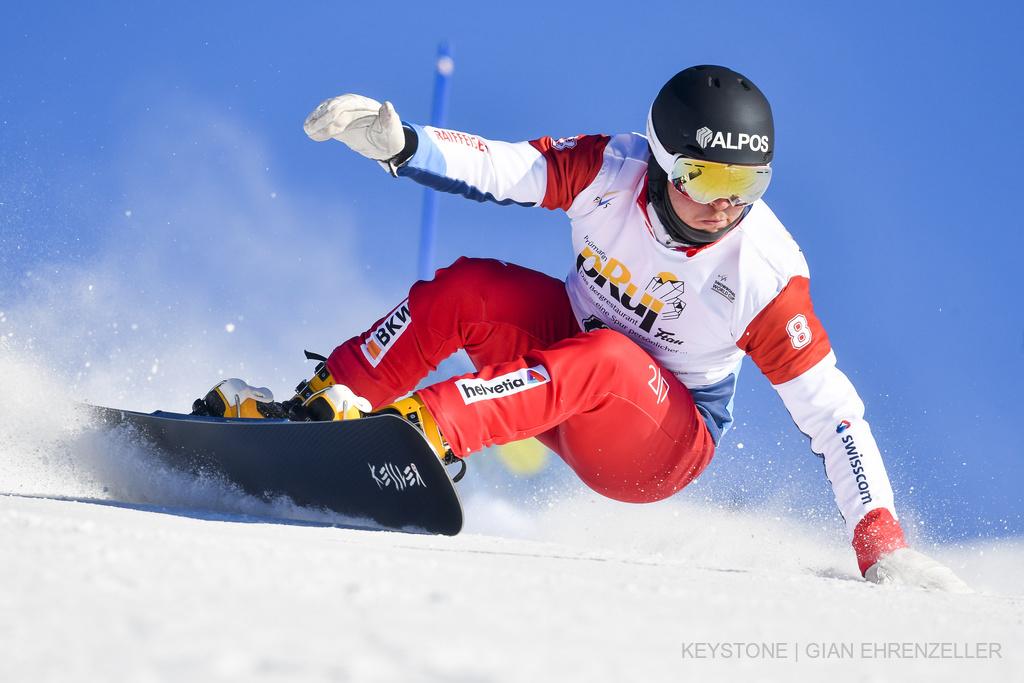 Dario Caviezel - Snowboardfahrer