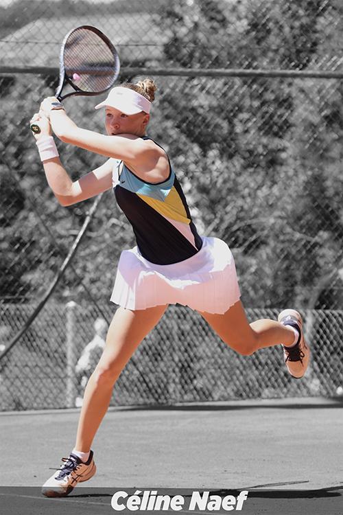 Céline Naef - Tennisspielerin